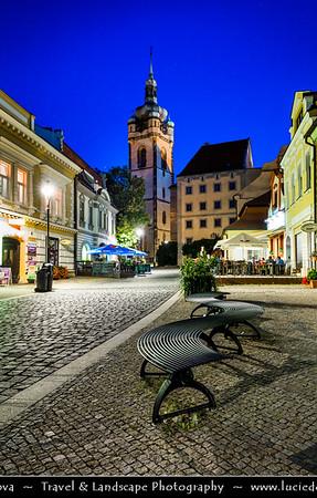 Europe - Czech Republic - Central Bohemian Region - Střední Čechy - Středočeský kraj - Mělník - Melnik - Middle Ages royal town situated by confluence of Vltava & Labe rivers with Renaissance style Mělník castle as most important sight