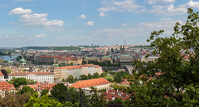 Overview from Prague Castle