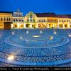 Europe - Czech Republic - Central Bohemian Region - Střední Čechy - Středočeský kraj - Mělník - Melnik - Middle Ages royal town situated by confluence of Vltava & Labe rivers - Mail Square with town hall