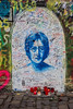 John Lennon Wall<br /> Prague