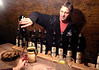 Pavel Lacina leading a wine tasting