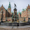 Frederiksborg Castle, built in 1560 by King Frederik II an later by his son, Christian IV in Dutch Renaissance style. The Danish Kings lived in there for about a century . The National History Museum has been housed in the castle since 1878. Hillerød, Denmark