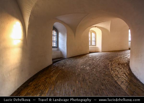Denmark - Copenhagen - Kopenhagen - København - Køpmannæhafn - Köpenhamn - Capital City - The Rundetårn - Round Tower - 17th-century tower located in central Copenhagen
