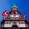 Denmark - Copenhagen - Kopenhagen - København - Køpmannæhafn - Köpenhamn - Capital City - Christiansborg Palace - Islet of Slotsholmen in central Copenhagen - Seat of the Folketing (the Danish parliament)