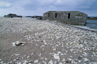 Vigsø - Nazi Bunkers swallowed by the Sea