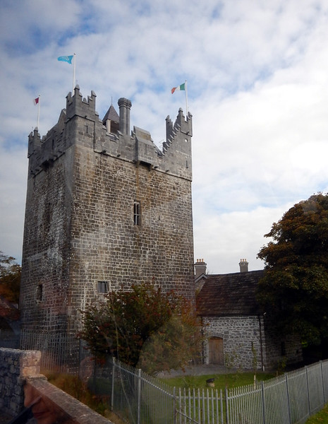 An old fortress tower in South Dublin