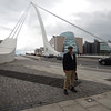 Michael, at the Samuel Beckett Bridge.