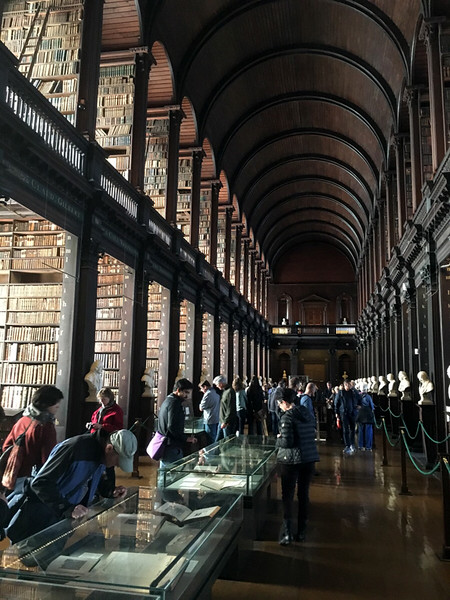 the Long Hall, at Trinity College
