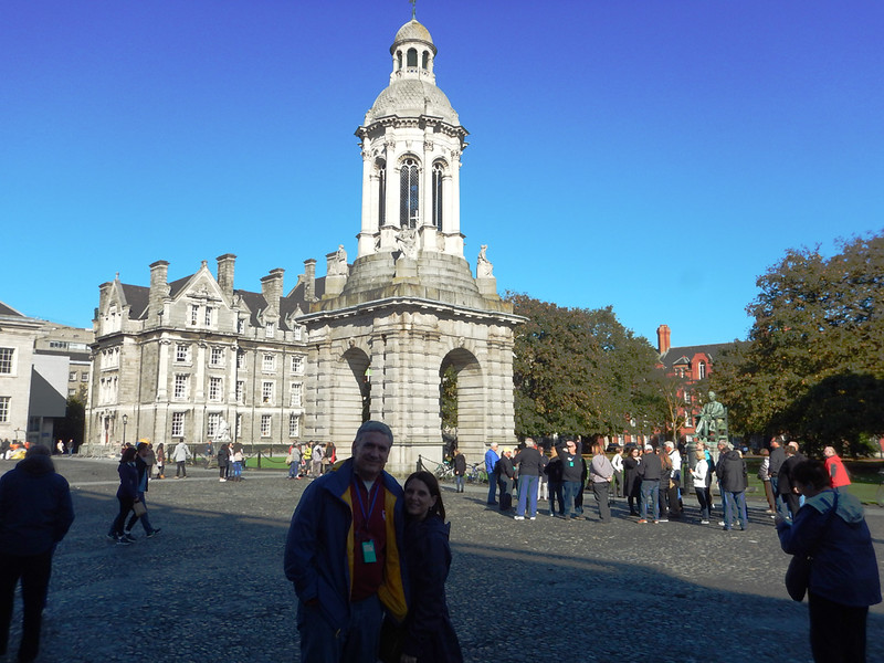 Trinity College, Todd and Marsha at the Campanile.