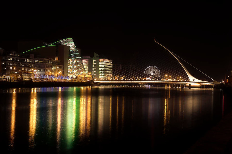 tourism photo for Dublin from the Internet (the ferrsi wheel was not there when we visited).