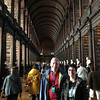 Todda and Robin at the Long Hall, at Trinity College