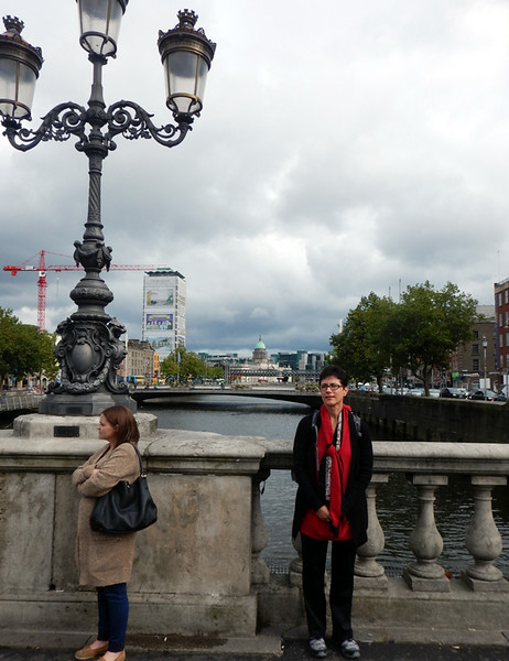 The river that flows through Dublin is the River Liffey.