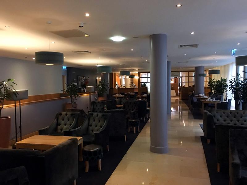 mezzanine level at the Clayton Hotel