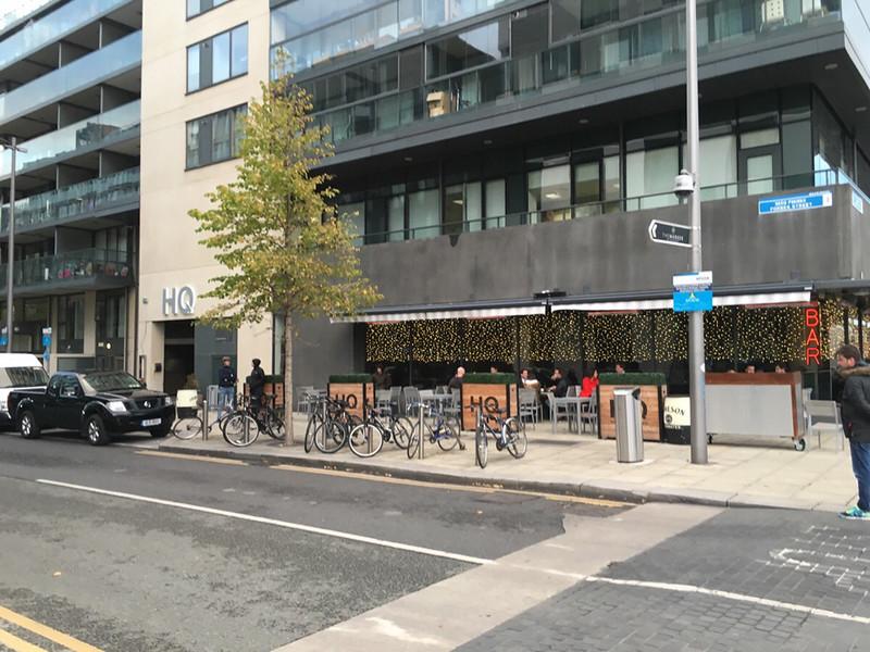 HQ restaurant, next to Bord Gais Theater