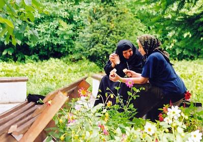 serbian nuns trapped in peja, kosovo