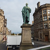 Edinbrurgh statue of William Pitt (the Younger), British Prime Minister during the Napoleonic Wars.