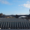 North Bridge, above Waverley Station, from the East