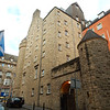 This was our hotel in Edinburgh, the Radisson Blu, from a side stree view.