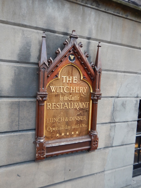 A pretty ritzy restaurant.  Witches were burned in this area in the late 1500-early 1600s in the vicinity of the restaurant & hotel, which takes it name from the location.