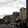 Grassmarket district.  Also, used to be where the public gallows were located.