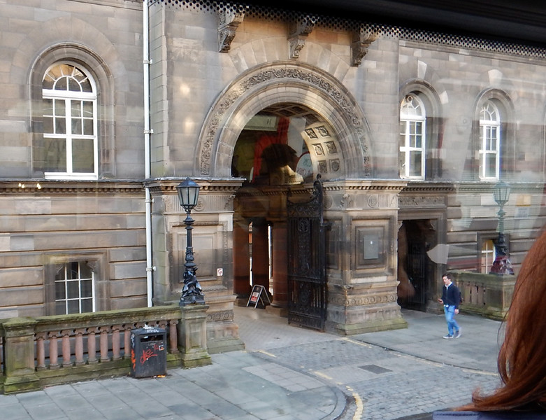 Part of the University of Edinburgh law or medicine colleges...