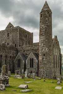 Round Tower and Graveyard - Rock of Cashel