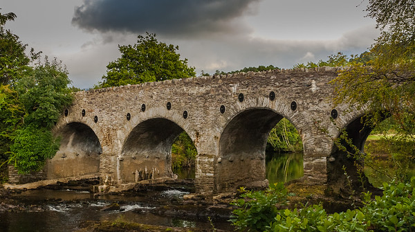 Ancient Bridge over the River Sheen