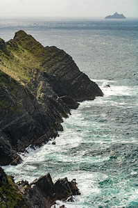 Western Edge of County Kerry and Skellig Michael