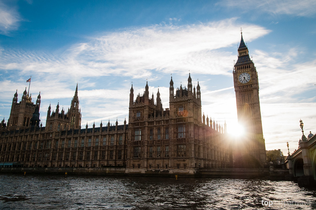 Parliament Building and Big Ben.