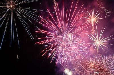 Thames Festival fireworks.