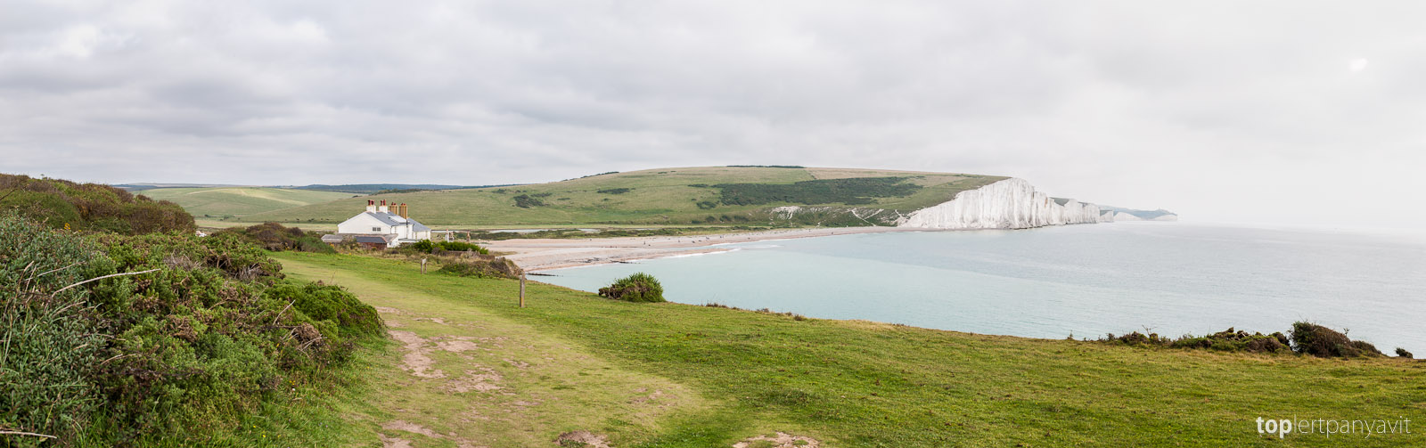 Southern coast and the Seven Sisters.