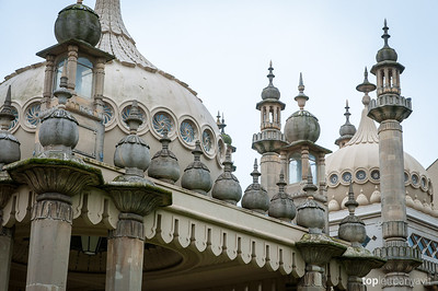 Royal Pavillion at Brighton.