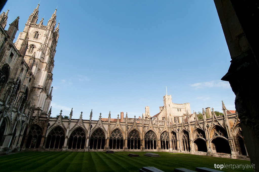 Canterbury Cathedral.