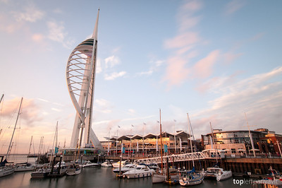 Spinnaker Tower at Portsmouth.