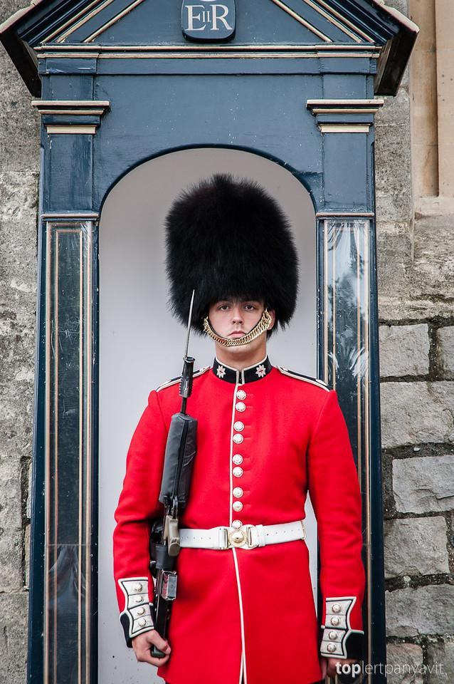 Windsor Castle guard.