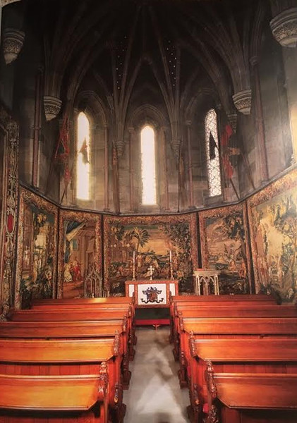 Alnwick Castle chapel
