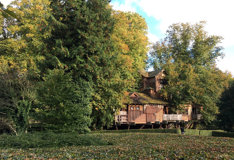 The Treehouse,  at Alnwick Castle