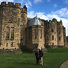 Robin and Michael at Alnwick Castle