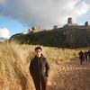 Robin at Bamburgh Castle