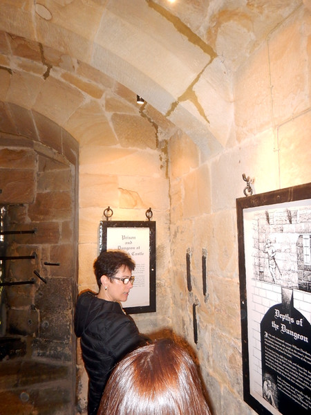 Alnwick Castle dungeon