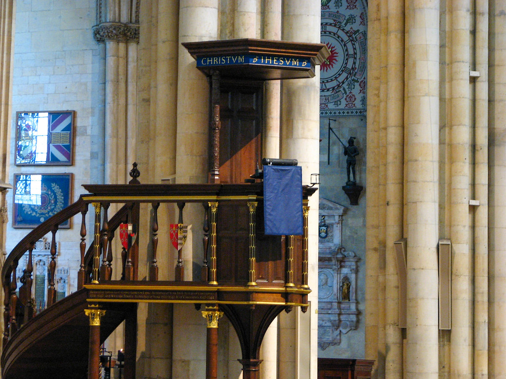 Yorkminster pulpit