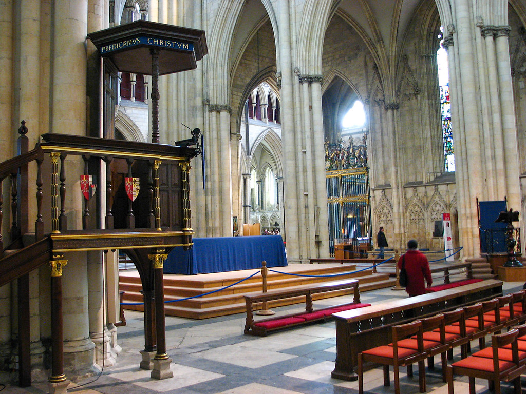 Inside Yorkminster