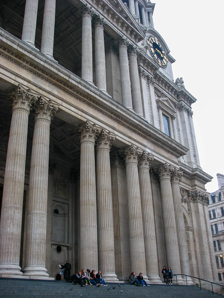 Front of St. Paul's Cathedral