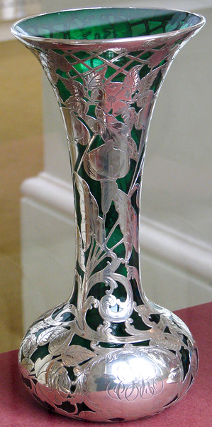 Vase in the Museum of Scotland