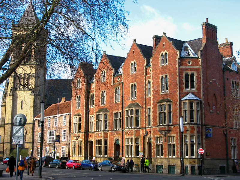 Buildings near Yorkminster and Dean's Park