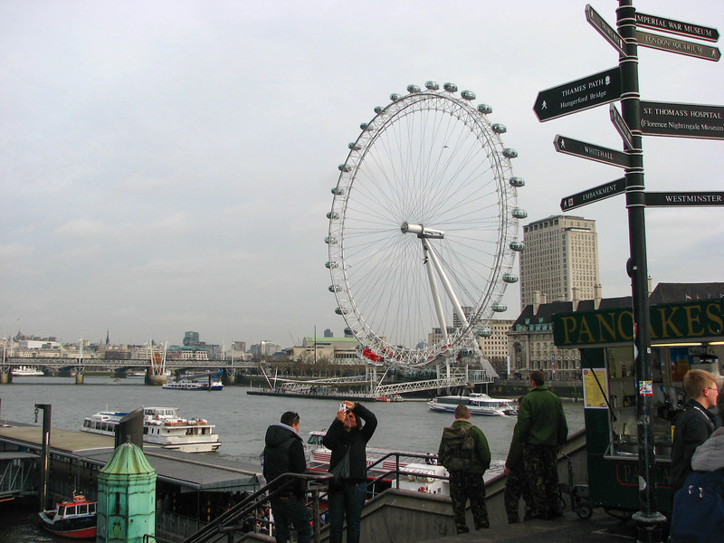 The Themes and London Eye