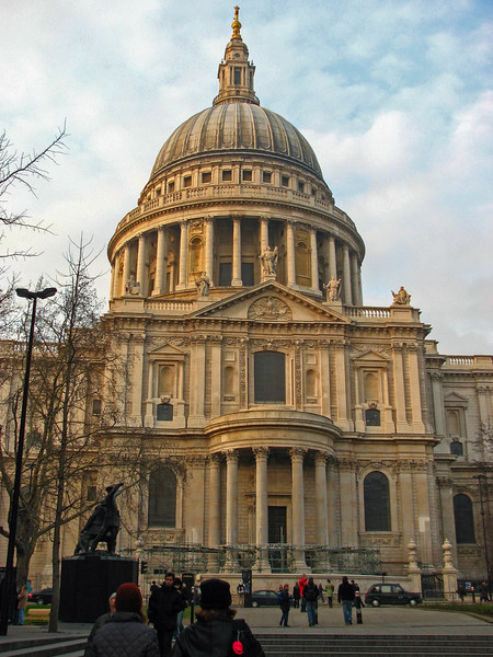 South side of St. Paul's Cathedral