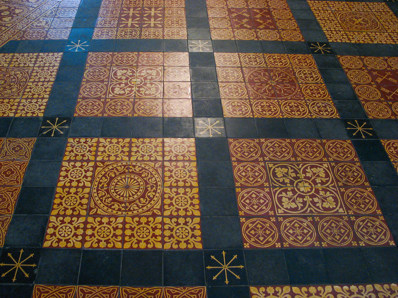 Yorkminster Chapter House floor