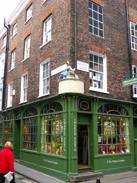 Shops at the corner of High Petergate and Minster Gates