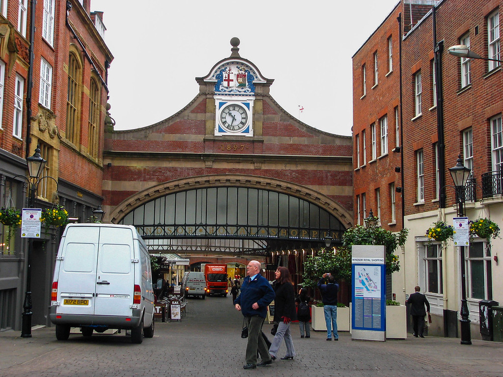 Entrance to the market in Windsor